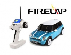 2.4GHz IWAVER 02 RTR SET (MINICOOPER Blue) 2014 Version